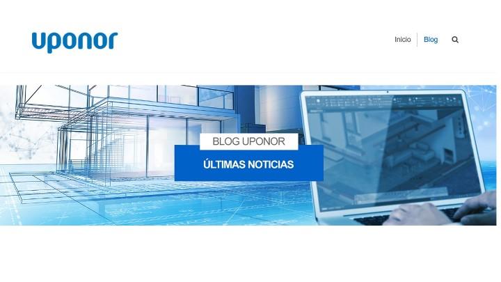 Uponor lanza un blog sobre innovación